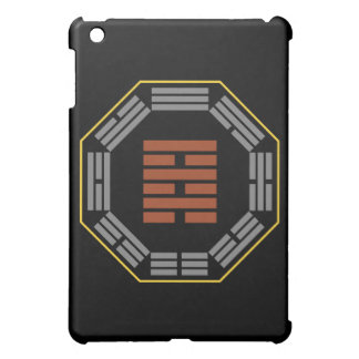 """I Ching Hexagram 64 Wei Chi """"Before Completion"""" iPad Mini Cover"""