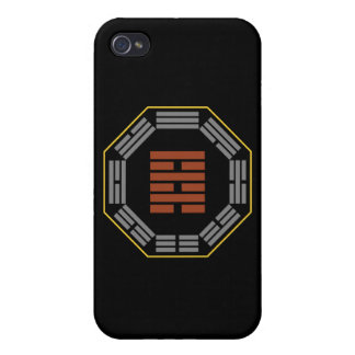 """I Ching Hexagram 64 Wei Chi """"Before Completion"""" Cases For iPhone 4"""