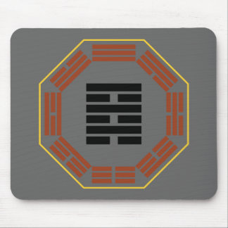 """I Ching Hexagram 64 Wei Chi """"Before Completion"""" Mouse Pad"""