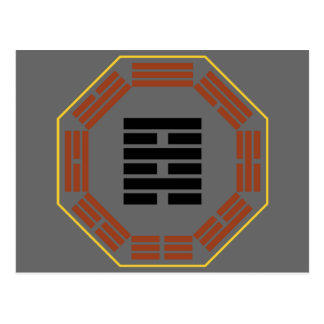 """I Ching Hexagram 64 Wei Chi """"Before Completion"""" Postcards"""