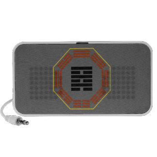 """I Ching Hexagram 64 Wei Chi """"Before Completion"""" iPhone Speaker"""
