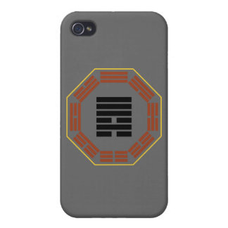 "I Ching Hexagram 6 Sung ""Contention"" iPhone 4 Case"