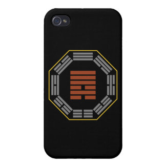 "I Ching Hexagram 6 Sung ""Contention"" iPhone 4/4S Cases"