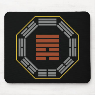 """I Ching Hexagram 6 Sung """"Contention"""" Mouse Pad"""