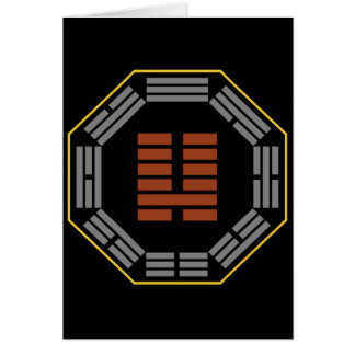 "I Ching Hexagram 7 Shih ""An Army"" Card"