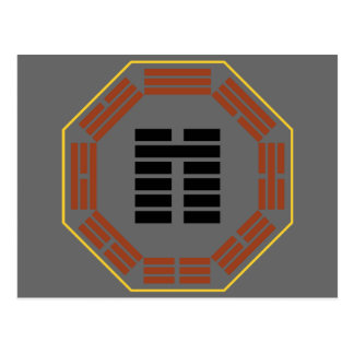 "I Ching Hexagram 8 Pi ""Accord"" Postcard"