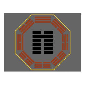 "I Ching Hexagram 8 Pi ""Accord"" Postcard"