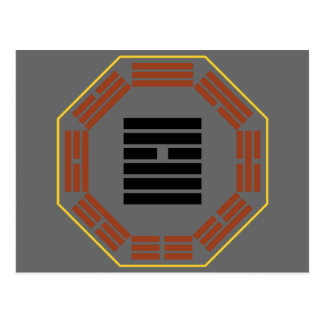 "I Ching Hexagram 9 Hsiao Ch""u ""Small Accumulating"" Postcard"