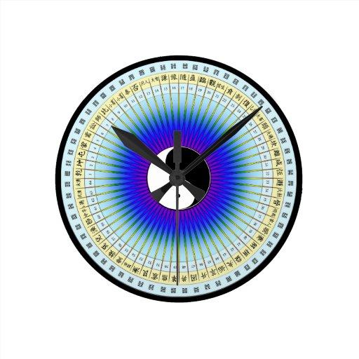 I Ching Hexagrams Clock
