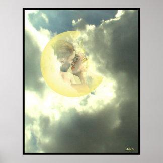 I Ching Meditations, hexagram 9 Poster