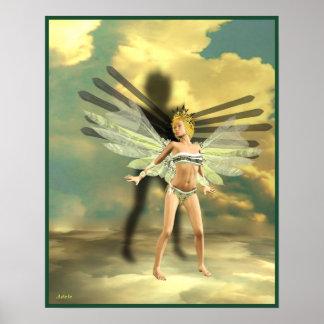 I Ching Meditations, hexagram 9 Posters