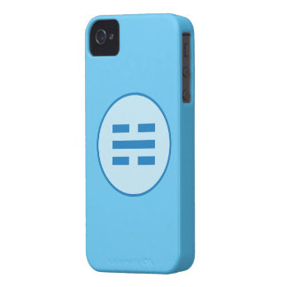 I Ching Water Trigram (Kan) iPhone 4 Case-Mate Case