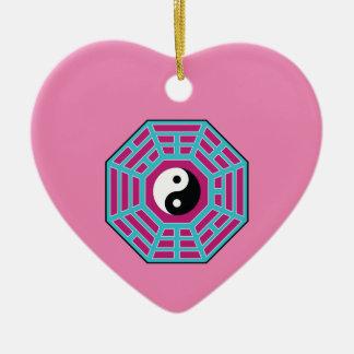 I Ching Yin Yang Ceramic Ornament