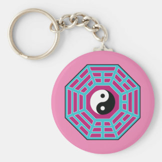 I Ching Yin Yang Key Ring Keychain