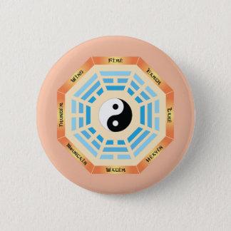 I Ching Yin Yang Pinback Button