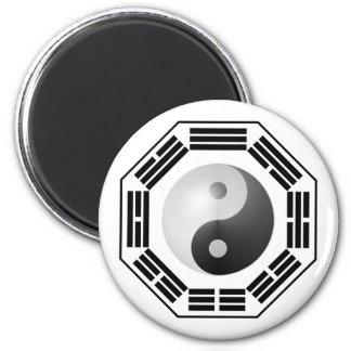 I Ching YinYang 2 Inch Round Magnet