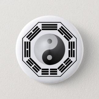 I Ching YinYang Pinback Button