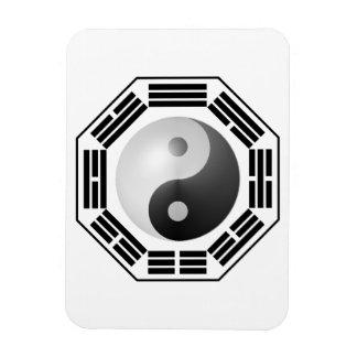 I Ching YinYang Rectangular Photo Magnet