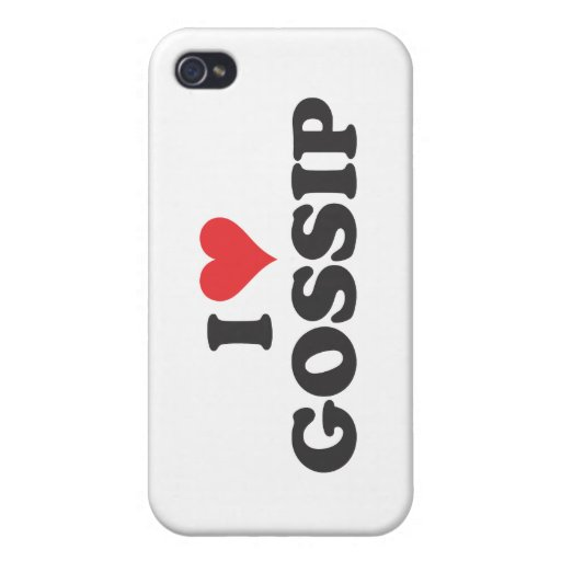 I chisme del corazón iPhone 4 carcasas