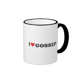 I chisme del corazón largo tazas de café