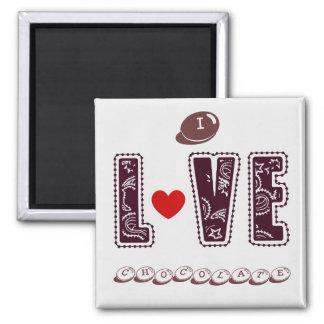 I Chocolate Love Heart Magnet