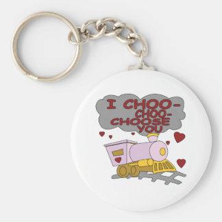 I Choo Choo Choose You Key Chain