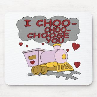 I Choo Choo Choose You Mouse Pads
