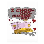 I Choo Choo Choose You Post Cards