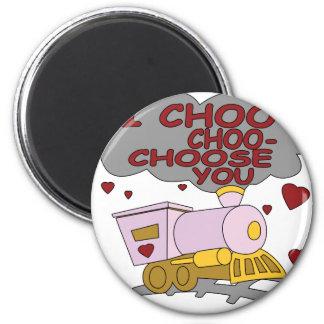 I Choo Choo le elige Imanes
