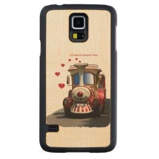 I Choo-Choose You Carved® Maple Galaxy S5 Slim Case