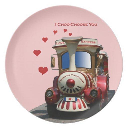 I Choo-Choose You Plate