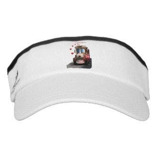 I choo-choose you visor
