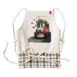 I choo-choose you zazzle HEART apron