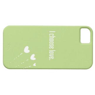 I choose love: iPhone 5 Case