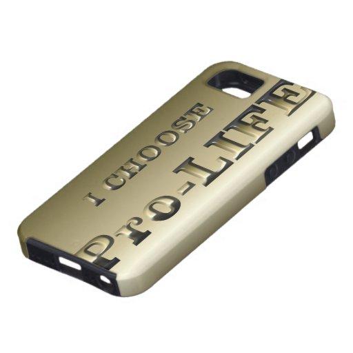 I CHOOSE Pro-LIFE iPhone 5 Cover