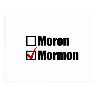 I CHOOSE THE MORMON png Postcards