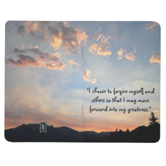 """I Choose to Forgive"" Blank Pocket Journal"