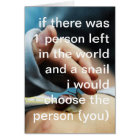 i choose you card