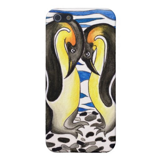 I Choose You Penguin Pair Iphone Case Cover For iPhone 5