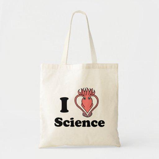 I ciencia del calamar bolsa tela barata