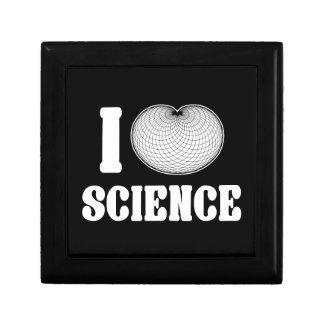 I ciencia del cardidoide joyero cuadrado pequeño