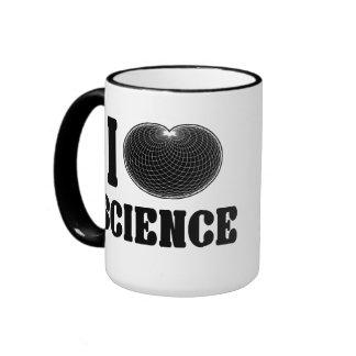 I ciencia del cardidoide taza de dos colores