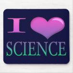 I ciencia del corazón alfombrilla de ratón