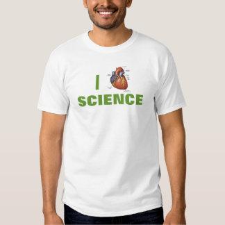 I ciencia del corazón playera