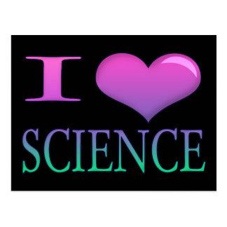I ciencia del corazón postales