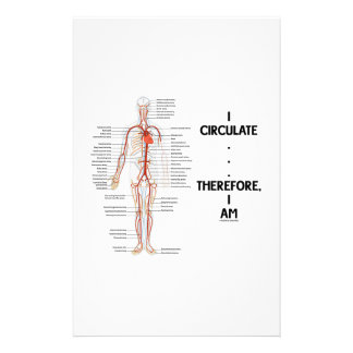 I Circulate . . . Therefore, I Am (Circulation) Stationery