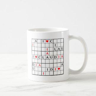 I♥CLAUDIA COFFEE MUGS