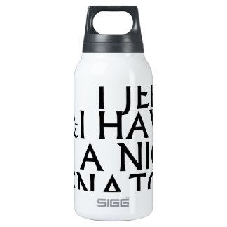 I Clean I Jerk I Have a Nice Snatch T Shirts.png Insulated Water Bottle