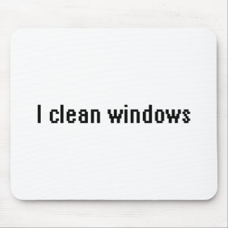 I clean windows mouse pad