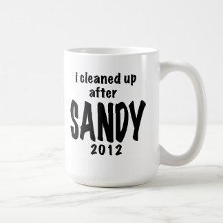 I Cleaned Up After SANDY, 2012 Classic White Coffee Mug